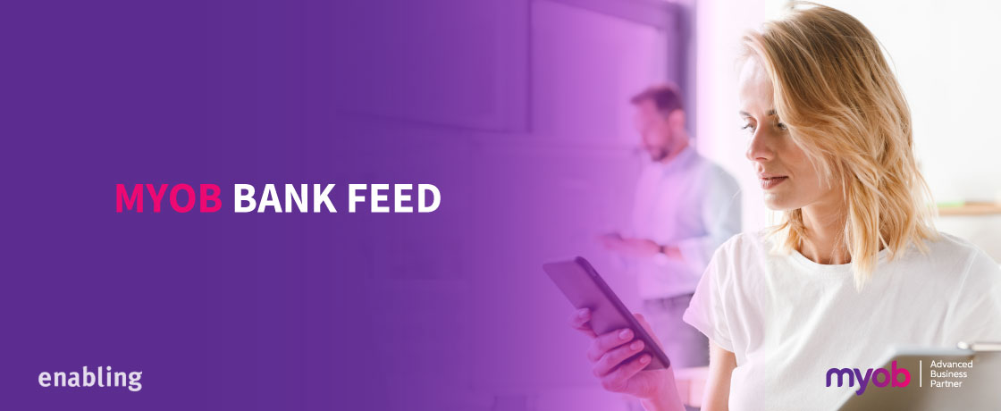 MYOB Bank Feed