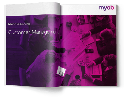MYOB Advanced Customer Management