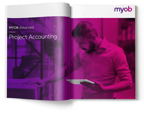 myob advanced project accounting