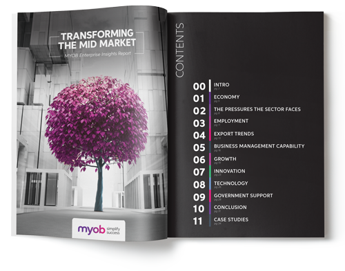myob enterprise insights report